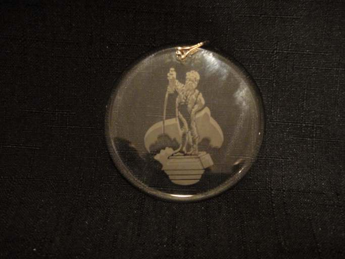 Boy with Boot Christmas Ornament