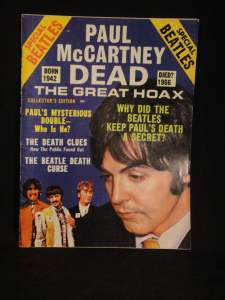 McCartney Dead Magazine