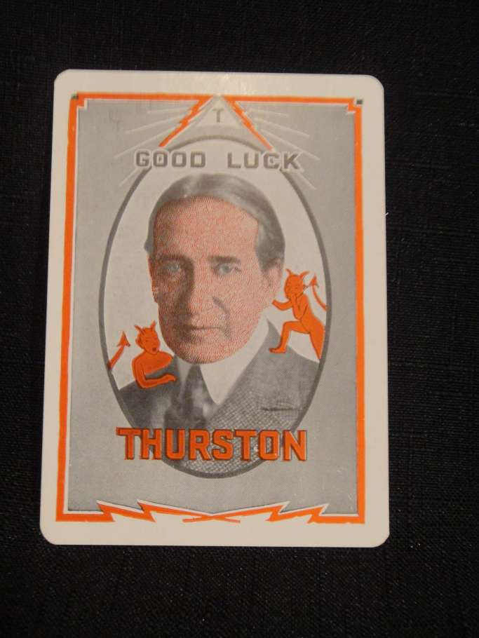Thurston Throwing Card